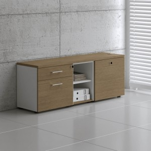 Standard A12M Low Managerial Storage by MDD Office Furniture