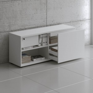 Standard A14M Managerial Storage w/1 Drawer by MDD Office Furniture