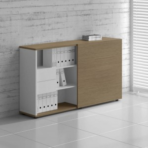 Standard ZS03 Managerial Storage Cabinet w/Sliding Door by MDD Office Furniture