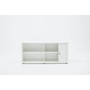 Standard A2L08 Low Tambour Storage Cabinet by MDD Office Furniture