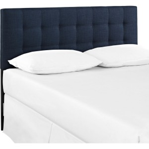 Lily Queen Fabric Headboard, Navy by Modway Furniture