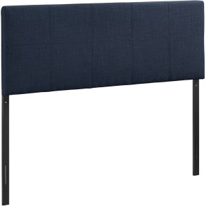 Oliver Queen Fabric Headboard, Navy by Modway Furniture