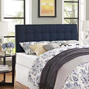 Lily King Fabric Headboard, Navy by Modway Furniture
