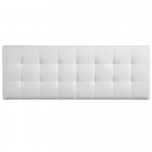 Lily King Vinyl Headboard, White by Modway Furniture