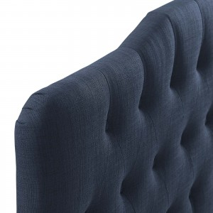 Annabel Queen Fabric Headboard, Navy by Modway Furniture