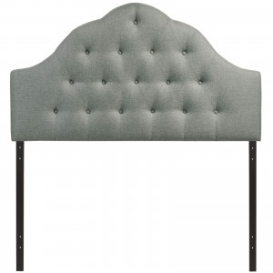 Sovereign King Fabric Headboard, Gray by Modway Furniture