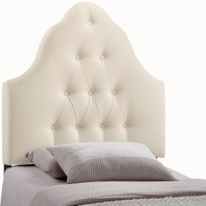 Sovereign Twin Fabric Headboard, Ivory by Modway Furniture