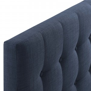 Emily Queen Fabric Headboard, Navy by Modway Furniture