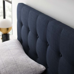 Emily King Fabric Headboard, Navy by Modway Furniture
