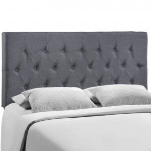 Clique Queen Headboard, Smoke by Modway Furniture