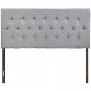 Clique King Headboard, Gray by Modway Furniture
