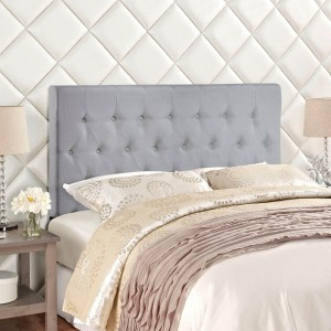 Clique Full Headboard, Gray by Modway Furniture