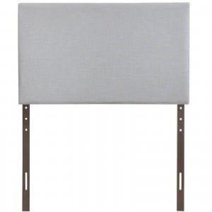 Region Twin Upholstered Headboard, Gray by Modway Furniture