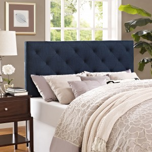 Theodore Full Fabric Headboard, Navy by Modway Furniture
