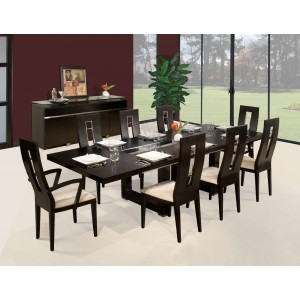 Novo Wood Dining Room Set by Sharelle Furnishings