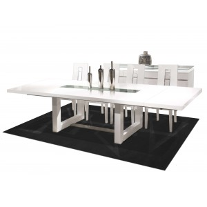Novo Dining Table w/Extensions by Sharelle Furnishings