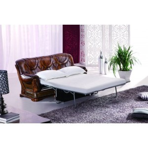 Oakman Leather/Eco-Leather Sofa Bed by ESF Furniture