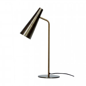 Trumpet Iron Table Lamp by MOE'S