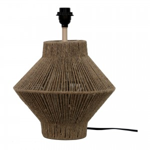 Newport Jute/Cotton/Iron Table Lamp by MOE'S
