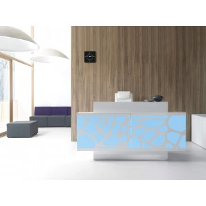 ORGANIC Straight Reception Desk by MDD Furniture