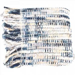 Nicky Acrylic/Wool Throw by MOE'S