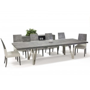 Prato Wood/Leather Dining Room Set by Sharelle Furnishings