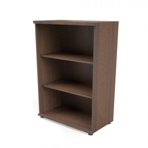 Quando 3OH Medium Office Bookcase by MDD Office Furniture