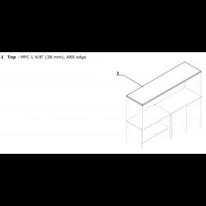 Quando 3OH Medium Office Storage Unit by MDD Office Furniture