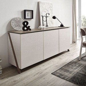 Reyna Modern Wood 3-Door Buffet by ESF Furniture