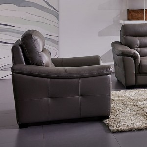 Richmond Leather/Eco Leather Chair by ESF Furniture