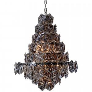 Swan Iron/Glass Pendant Lamp by MOE'S