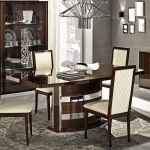 """Roma Dining Table w/18"""" Extension by Camelgroup, Italy"""