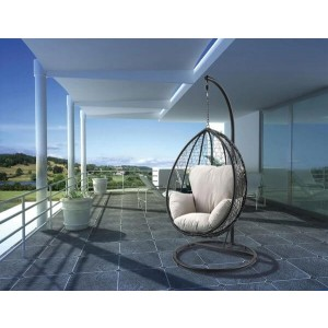 Simona Fabric Hanging Chair by ACME