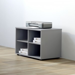 Basic 2OH Low Office Bookcase by MDD Office Furniture