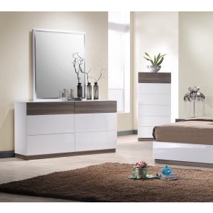 Sanremo Dresser + Mirror + Chest by J&M Furniture