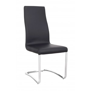 Side-4261 Dining Chair, Set of 4, Black by New Spec Furniture