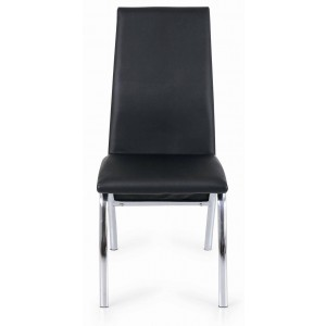 Side-450 Dining Chair, Black by New Spec Furniture