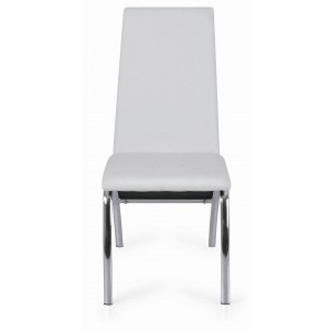 Side-450 Dining Chair, White by New Spec Furniture