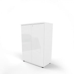 Gloss 3OH Medium Office Storage Unit by MDD Office Furniture