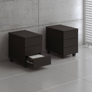 Standard Mobile Pedestal w/3 Drawers by MDD Office Furniture