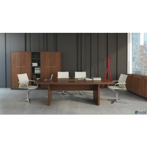 Status Conference Table, Lowland Nut by MDD Office Furniture