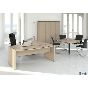 Status Executive Composition 2, Canadian Oak by MDD Office Furniture