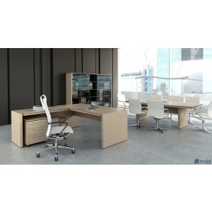 Status Executive Composition 5, Canadian Oak by MDD Office Furniture