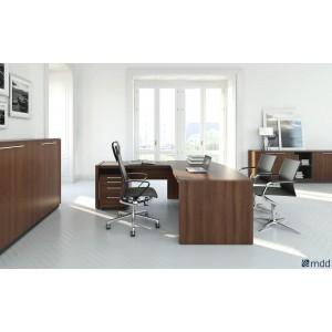 Status Executive Composition 6, Lowland Nut by MDD Office Furniture