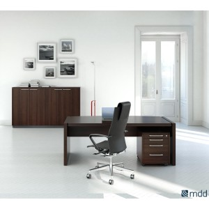 Status Executive Composition 7, Chestnut by MDD Office Furniture