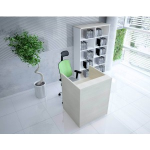 TERA Small Reception Desk by MDD Office Furniture