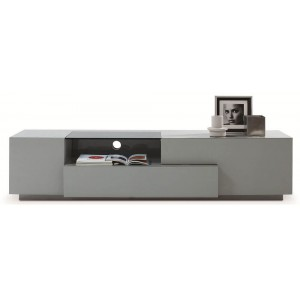 TV015 TV Stand, Gray High Gloss by J&M Furniture