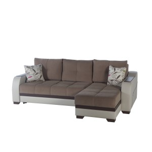 Ultra Sleeper Sectional Optimum Brown by Sunset (Istikbal) Furniture