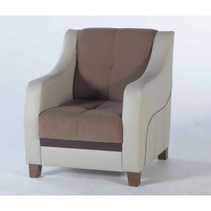 Ultra Armchair Optimum Brown by Sunset (Istikbal) Furniture