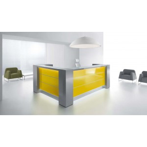 VALDE Customizable Reception Desk by MDD Office Furniture